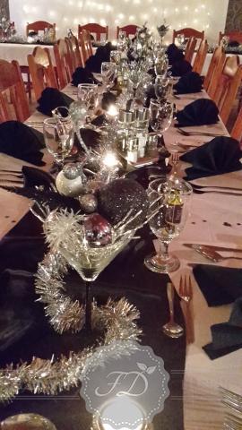 Silvestrovská výzdoba