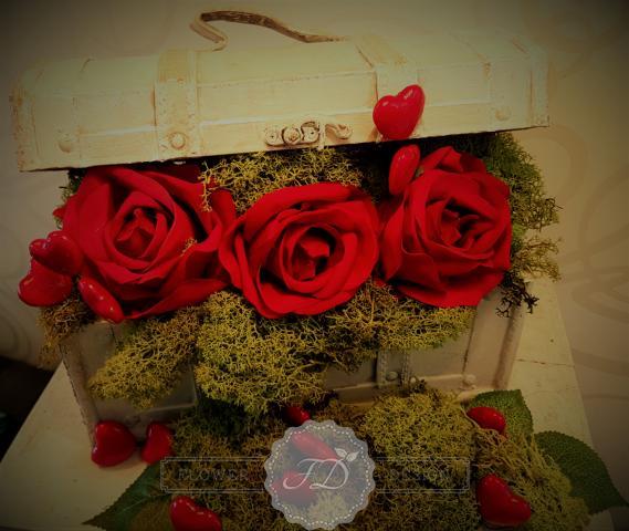 Valentínska výzdoba