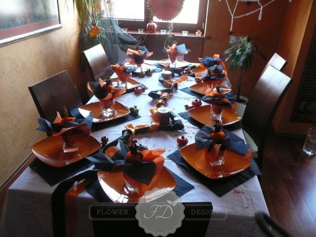 Halloweenska výzdoba